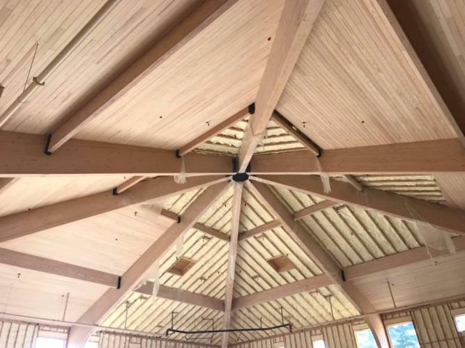 ceiling work 4