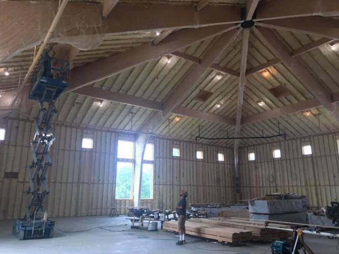 ceiling work 5